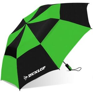 "Dunlop 56"" Double Canopy Folding 2-Person Umbrella EC"