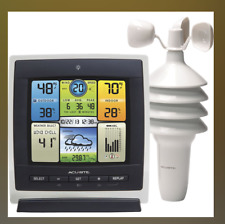 AcuRite 00589Wireless Color Weather Center w/ Wind Speed Model: 00589