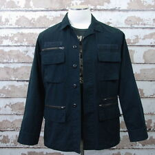 NWT $185 Ralph Lauren Denim & Supply Military Field Jacket Medium M Blue  +1