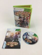 Bioshock Infinite Xbox 360 Video Game Irrational 2K 2013 M-Rated Complete Manual