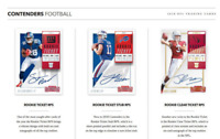 2018 PANINI CONTENDERS FOOTBALL HOBBY LIVE RANDOM PLAYER 1 BOX BREAK - 5 AUTOS