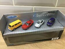 Welly model premium collection Volkswagen camper,Ford Mustang,Porsche,Audi