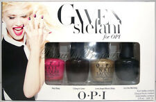 OPI Gwen Stefani Mini Nail Polish Lacquers Rock Starlets 4pc Set 1/8oz fast ship