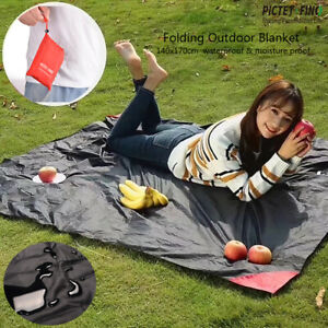 Outdoor Picnic Blanket Beach Mat Rug Mattress Camping Waterproof Sand Free Pad