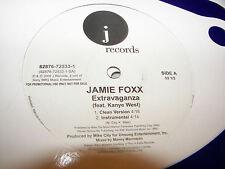 """JAMIE FOXX KANYE WEST EXTRAVAGANZA 12"""" Single NM J 82876-72533-1 2005 PROMO"""