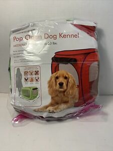 Sport Pet Designs Pop Open Dog Kennel Medium For Dogs up to 50 lbs. Green