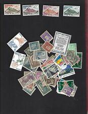 Andorra Fr. sc#C5-6 MH #C7-8 Used (1961-4) Complete + Nice lot