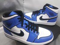 "Air Jordan 1 Mid ""Signal Blue"" DD6834-402 NEW Men Size 7.5/ Women Sz 9"