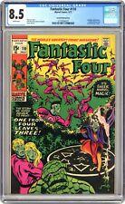 Fantastic Four #110 RARE Green Printing Error Variant! CGC 8.5 White Pgs! NICE!