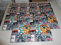 Lot of 20 1990 Fantastic Four Comics 347 from Marvel Comics Arthur Adams