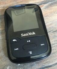 SanDisk Clip Sport Plus MP3 Player - Black , 16 GB - Excellent condition