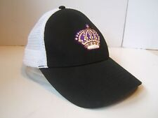 Los Angeles Kings Snapback Trucker Hat Black Bud Light NHL Vintage Hockey Cap