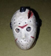 """1.3"""" HEAD ONLY NECA Jason Voorhees FRIDAY THE 13TH 7"""" ACTION FIGURE Part Mask c"""