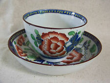 Gaudy Dutch CARNATION Pattern CUP and SAUCER #3