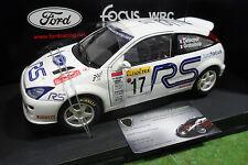 FORD FOCUS WRC #17 RALLYE MONTE CARLO 2001 Delecour 1/18 d AUTOart 80112 voiture