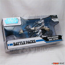 Star Wars The Legacy Collection - Hoth Speeder Bike Patrol Battle Pack 2 scouts