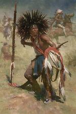 Z S Liang LAKOTA SASH BEARER, 1848, Native American, Lakota, MasterWork™ #1/10