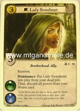 A Game of Thrones LCG - 1x Lady Stoneheart  #058 - Mountains of the Moon