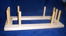 "11 Foot Warping Board 17 1/2"" X 8 1/2"", For Inkle,  Rigid Heddle or Card Weaving"