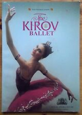 The Kirov Ballet programme Royal Opera House Covent Garden 2003 La Bayadere