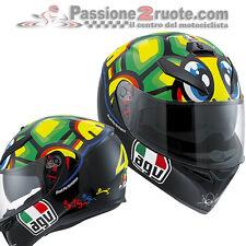 Casco integrale moto Agv K3 Sv Valentino Rossi 46 Tartaruga Mugello taglia S