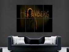 Cartel Breaking Bad Heisenberg enorme TV Series usa imagen Grande De Pared