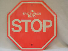 "ERIC BURDON BAND - Stop LP (RARE STILL SEALED US Press on CAPITOL w/""sign"" Cvr.)"