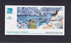 Ascension Island 2005 Birdlife Sea Birds MS booby tropic bird tern FDC