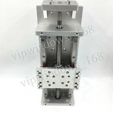 Linear Stage Table 200mm X Y Z Axis Sliding Cross Slide Table SFU1605 Ballscrew