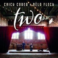 CHiCK CoRea & BéLa FLeCK TWo BRaNd NeW CD 2-DiSC DiGiPaK STReTCh CoNCoRD LaBeL