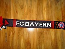adidas Offical Bayern Munich Football Scarf Two Sided Graphics