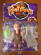 The Flintstones Movie Lawn Mowin' Barney Rick Moranis Figure Mattel 1993 New