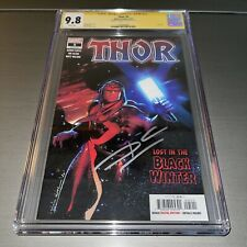 Thor #5✳️CGC SS 9.8✳️1st First appearance of BLACK WINTER✳️SIGNED BY DONNY CATES