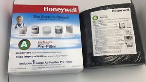 4pcs Honeywell 38002 Carbon Air Purifier Replacement Pre-Filter, HRF-AP1/Filter