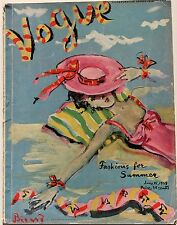 1939 VOGUE Paris Couture 30s vtg fashion Schiaparelli Piguet Tiffany Horst Durst
