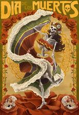 Dia De Los Muertos Poster Print, 13x19