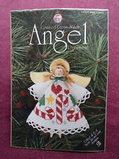 DMC COUNTED CROSS STITCH ANGELORNAMANT KIT CANDY CANES 1458