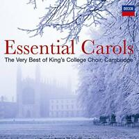 THE CHOIR OF KING'S COLLEGE CAMBRIDGE Essential Carols 39-trk 2CD Decca NEW