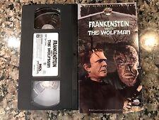 Frankenstein Meets The Wolfman Vhs! 1942 Van Helsing House Of Dracula