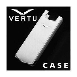 Schutzhülle White Leather Vertu Signature S Cover Original Luxury Accessory