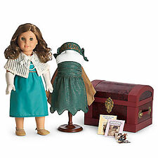 American Girl REBECCA COSTUME CHEST for Dolls Wings Shawl Pearls Rebecca's NEW
