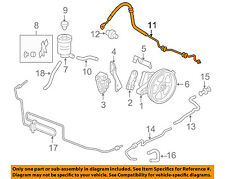 HONDA OEM 08-10 Odyssey-Power Steering Pressure Hose 53713SHJA02