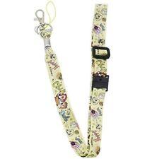 Disney Chip and Dale Neck Strap Lanyard Key Chain Holder Kawaii Japan F/S