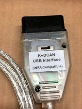 BMW K+DCAN OBD2 Cable Switch FTDI FT232RL Tools INPA EDIABAS NCS EXPERT ISTA