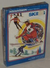 Mattel Intellivision INTV Skiing Video Game, new, shrink-wrapped, vintage sports
