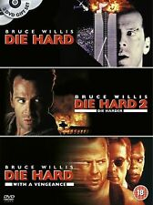 Die Hard Trilogy 1-3 Boxset Complete Collection  Bruce Willis NEW  UK R2 DVD