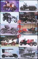 Lot de 60 télécartes voiture nostalgique