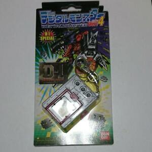 BANDAI Digital Monster Ver.4 D-1SPECIAL Silver & Red Digimon Unused