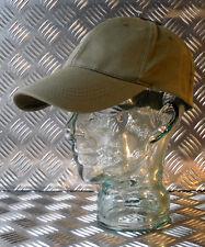 100% coton réglable vert casquette de baseball / Casquette non Logos - Neuf