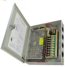 9 Channel DC 12V 20A 240W Power Supply Distribution Box For CCTV Camera